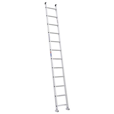 Thang Nhôm Thẳng Werner 12ft (Aluminum Straight Ladder 12ft)