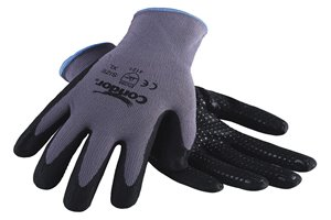 Găng Tay Nylon/Spandex Phủ Hạt Nitrile Chống Cắt (Dotted Nitrile Coated Glove)